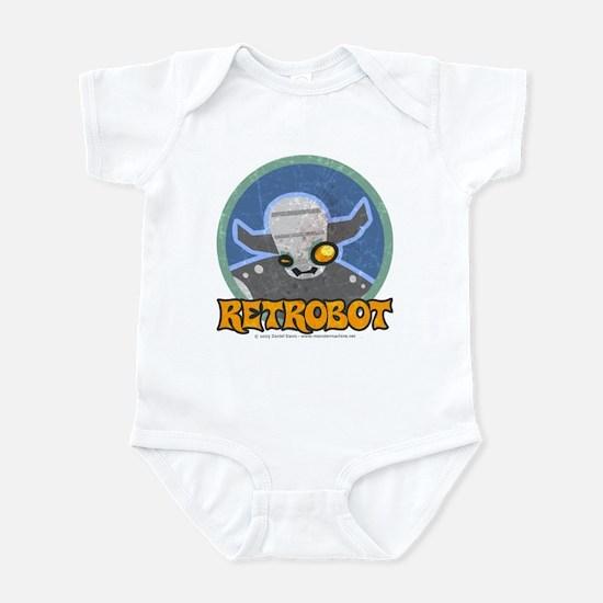 Retro Robot - Retrobot Infant Creeper