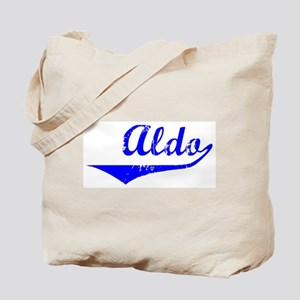 Aldo Vintage (Blue) Tote Bag