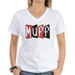Muff Women's V-Neck T-Shirt