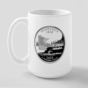Minnesota State Quarter Large Mug