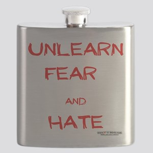 Unlearn Fear and Hate Flask
