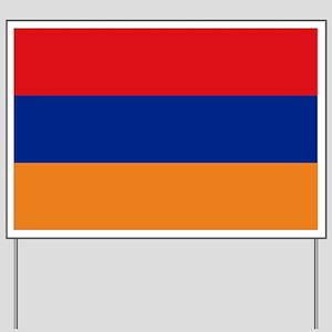 Flag Armenia Yard Sign