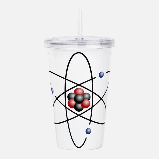 Atom design - color Acrylic Double-wall Tumbler