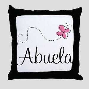 Abuela Grandmother Throw Pillow