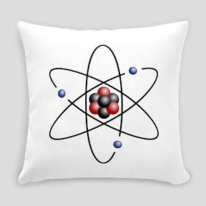 Atom design - color Everyday Pillow