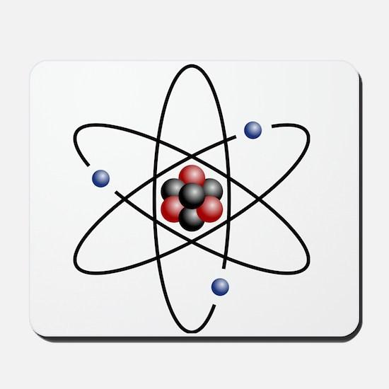 Atom design - color Mousepad