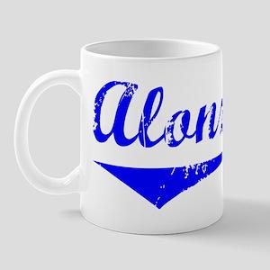 Alonzo Vintage (Blue) Mug