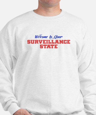 Welcome to your Surveillance State Sweatshirt