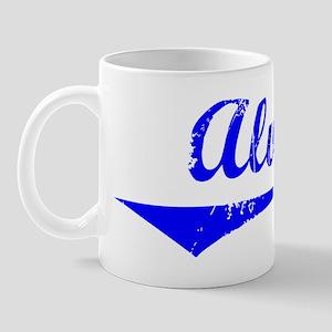 Alva Vintage (Blue) Mug