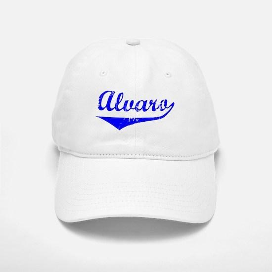 Alvaro Vintage (Blue) Baseball Baseball Cap