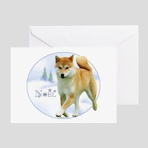 Shiba Noel Greeting Card