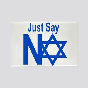 Say No To Apartheid Rectangle Magnet