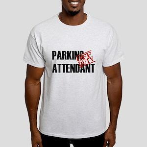 Off Duty Parking Attendant Light T-Shirt