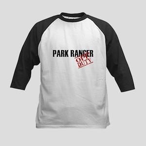 Off Duty Park Ranger Kids Baseball Jersey