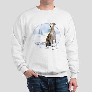 Whippet Noel Sweatshirt