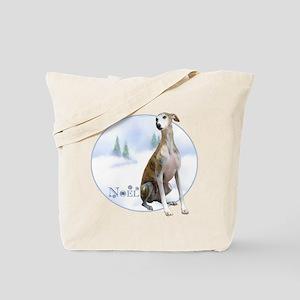 Whippet Noel Tote Bag