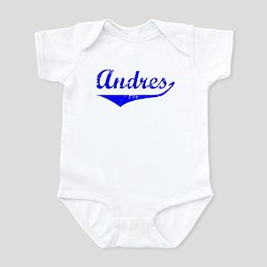 Andres Vintage (Blue) Infant Bodysuit