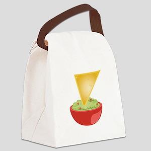 Avacado Dip Canvas Lunch Bag