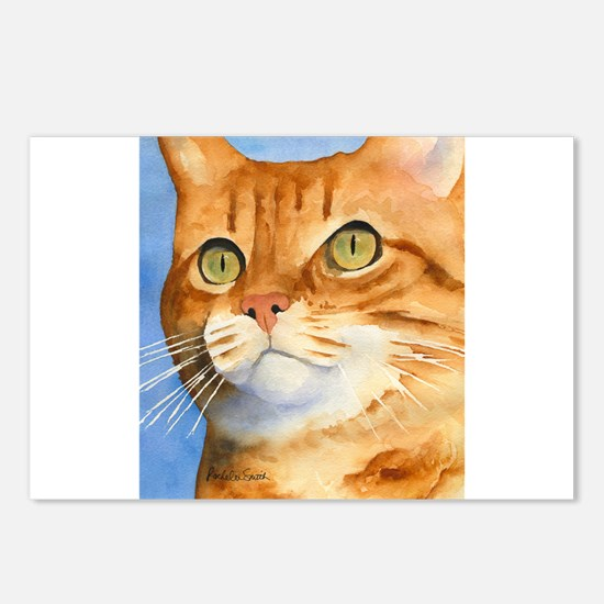 Red / Orange Tabby Postcards (Package of 8)