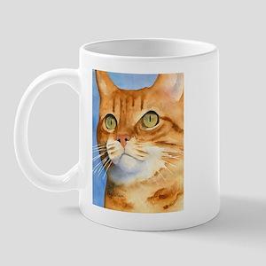 Red / Orange Tabby Mug