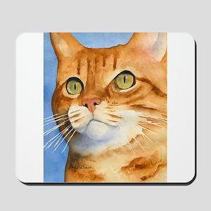 Red / Orange Tabby Mousepad