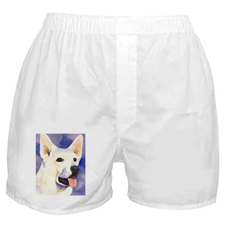 White German Shepherd Boxer Shorts