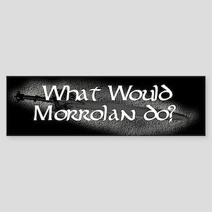 What Would Morrolan Do? Bumper Sticker