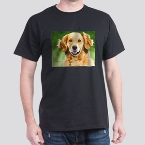 Golden Retriever 4 Dark T-Shirt