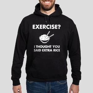 Exercise Extra Rice Hoodie (dark)