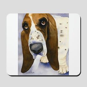 Basset Hound 3 Mousepad
