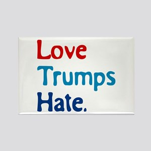 Love Trumps Hate Magnets