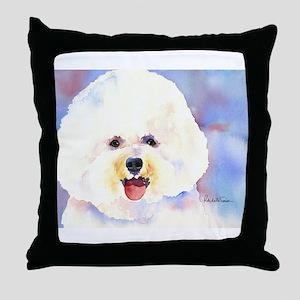 Bichon Frise 2 Throw Pillow