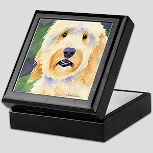 Goldendoodle Keepsake Box