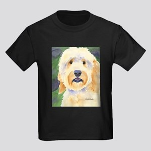 Goldendoodle Kids Dark T-Shirt