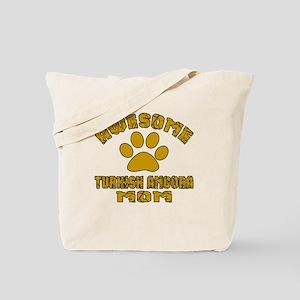 Awesome Turkish Angora Mom Designs Tote Bag