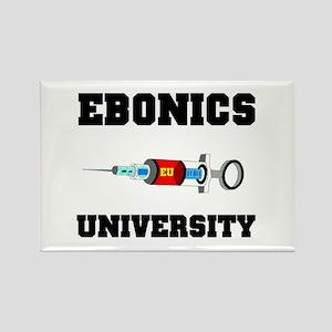 EBONICS UNIVERSITY Rectangle Magnet