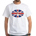Mod Evil Scooter Kitty White T-Shirt