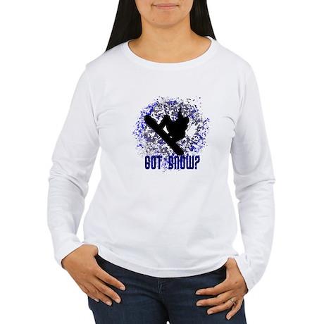 GOT SNOW? Women's Long Sleeve T-Shirt
