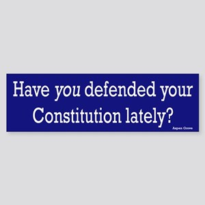 Defend your Constitution Bumper Sticker