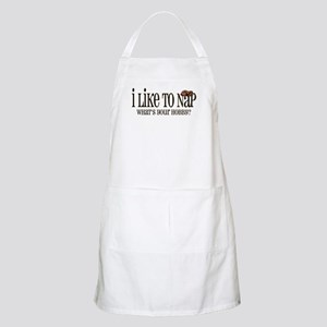 I Like To Nap Dog BBQ Apron