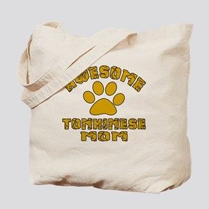 Awesome Tonkinese Mom Designs Tote Bag