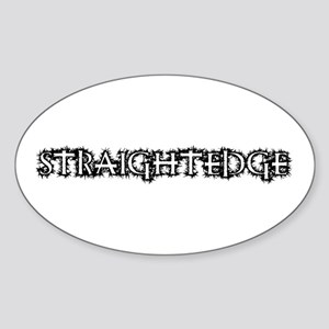 Straightedge Sticker