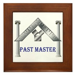 Past Masters Framed Tile