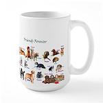 Friends Forever Large Mug