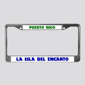 PUERTO RICO License Plate Frame