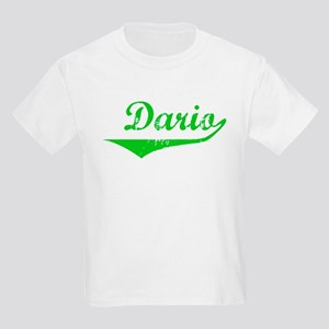 Dario Vintage (Green) Kids Light T-Shirt