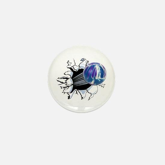 Breakthrough Bowling Ball Mini Button