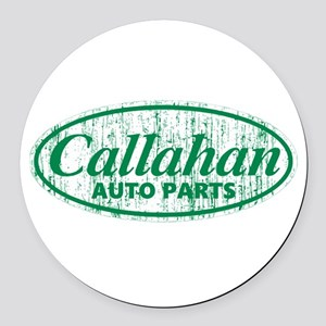 Callahan Auto Parts Sandusky Ohio Round Car Magnet