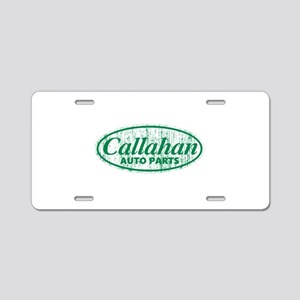 Callahan Auto Parts Sandusk Aluminum License Plate