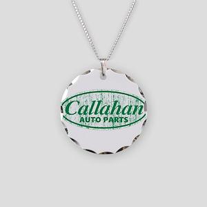 Callahan Auto Parts Sandusky Necklace Circle Charm
